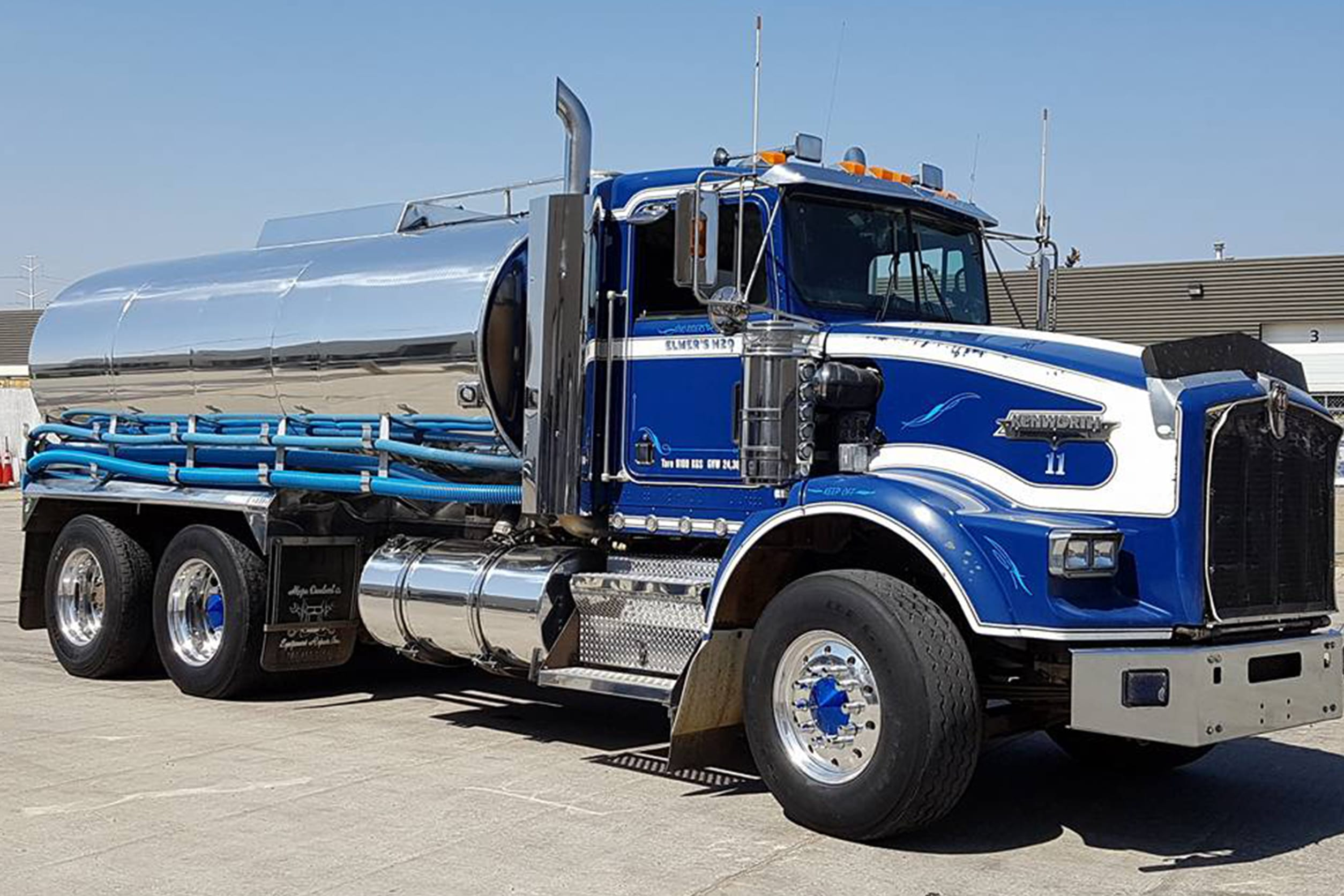 water tanker for commercial